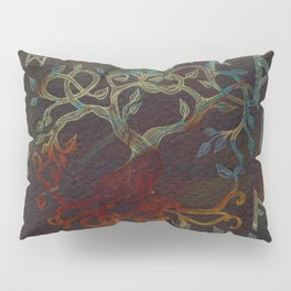 Tree of life  -Yggdrasil - and runes Pillow Sham