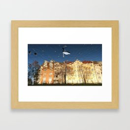 Reflector Swan III - Inverse Framed Art Print