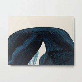 Lux Blue Metal Print