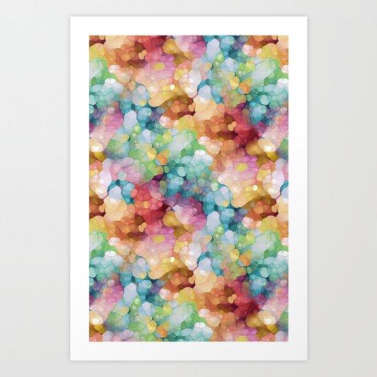 Candy Colors Art Print