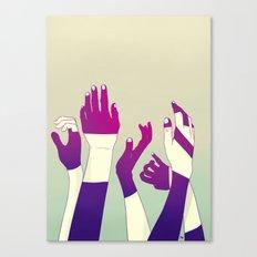 Crowd Canvas Print