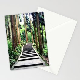 Begins with a simple step Stationery Cards