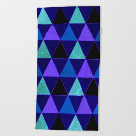 Abstract #471 Beach Towel