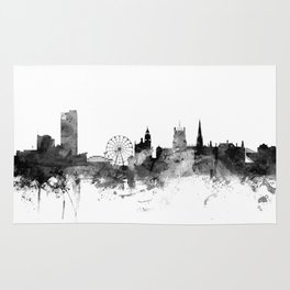 Sheffield England Skyline Rug