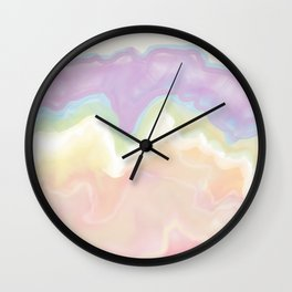 Candy agate Wall Clock