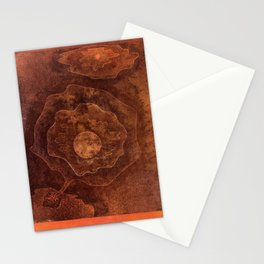 Paul Klee abstract art Stationery Cards