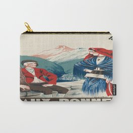 Vintage picture - France Carry-All Pouch