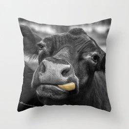 Don't Judge Me! Throw Pillow