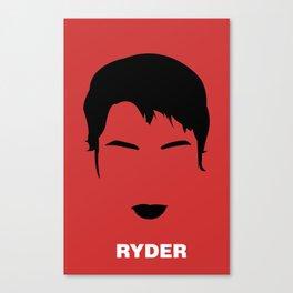 RYDER Canvas Print