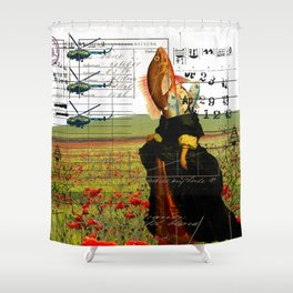 THE VISIT II Shower Curtain