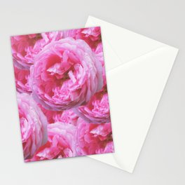 Pink peony Stationery Cards