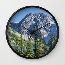 Blue Sky Over Enchantments Wall Clock