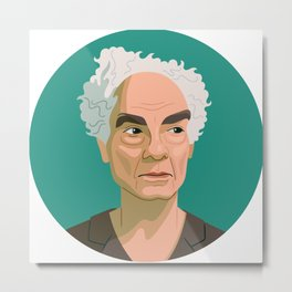 Queer Portrait - Merce Cunningham Metal Print