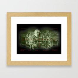 Target acquired  Framed Art Print