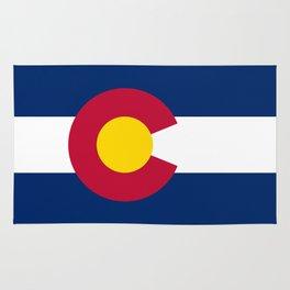 Colorado State Flag Rug