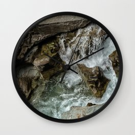 Any Which Way - Glacier NP Wall Clock