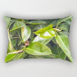 The rubber fig Rectangular Pillow