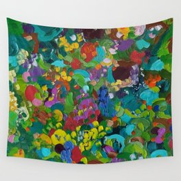 Flower Forest Wall Tapestry