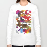 carnage Long Sleeve T-shirts featuring Life like a Geometry by Sitchko Igor