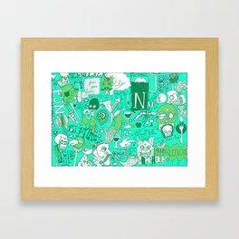 Fun Stuff Framed Art Print