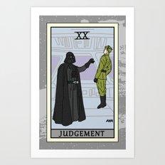 Judgement - Tarot Card Art Print