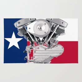 Texas Lone Star Shovel Rug
