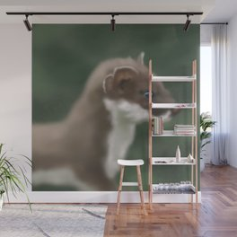 Stoat in Sight Wall Mural