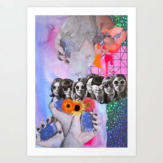 Retrofuture Art Print