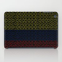 colombia iPad Cases featuring digital Flag (Colombia) by seb mcnulty