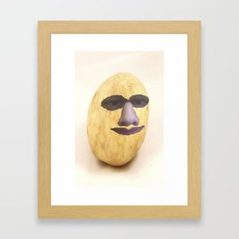 gorjus potato gril Framed Art Print