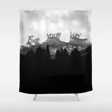 Wisdom of Nature Shower Curtain