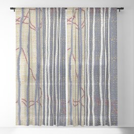 Yarns: Family ties Sheer Curtain