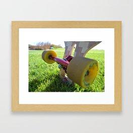 Wheels Framed Art Print