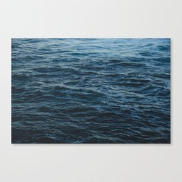 Ocean water Canvas Print