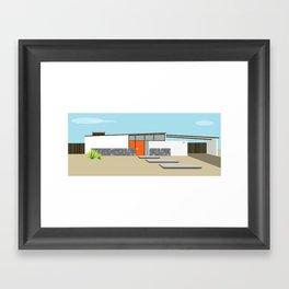 Mid Century Modern Palm Springs House 8 Framed Art Print