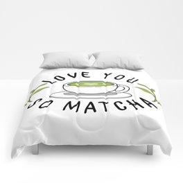Matcha Love Comforters