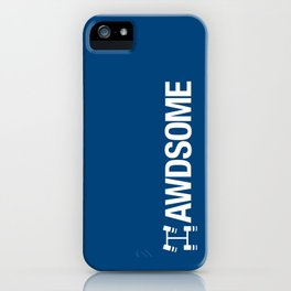 AWDSOME v5 HQvector iPhone Case