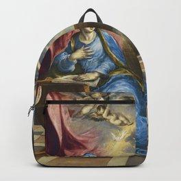 """El Greco (Domenikos Theotokopoulos) """"The Annunciation (1576)"""" Backpack"""