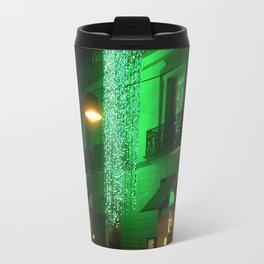 Green Cascade Metal Travel Mug