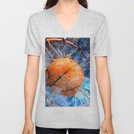 Basketball art vs vx 6 Unisex V-Neck