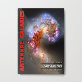 Antennae Galaxies Metal Print