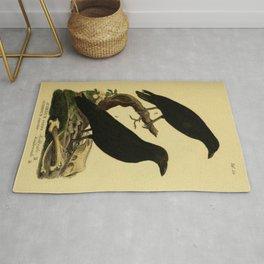 Crow And Raven Rug