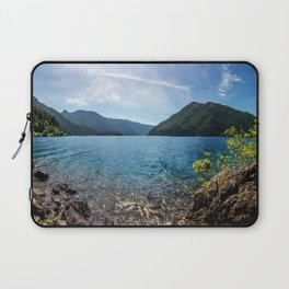 Lake Crescent Olympic Mountain Pano Laptop Sleeve