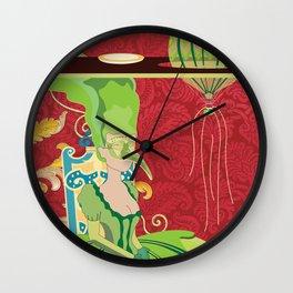 Portrait of Seraphin Wall Clock