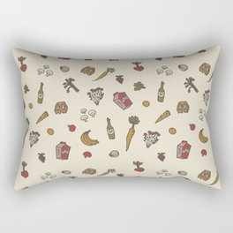 fruits and vegetables Rectangular Pillow