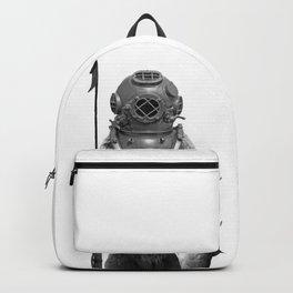 Harpoon Fishing Bear Backpack