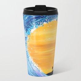 Tidal Wave Metal Travel Mug