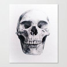 Skull Drawing Canvas Print