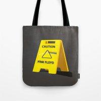 floyd Tote Bags featuring Pink Floyd by gunberk