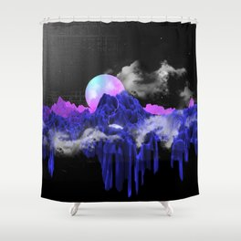 TERRAFORMING Shower Curtain